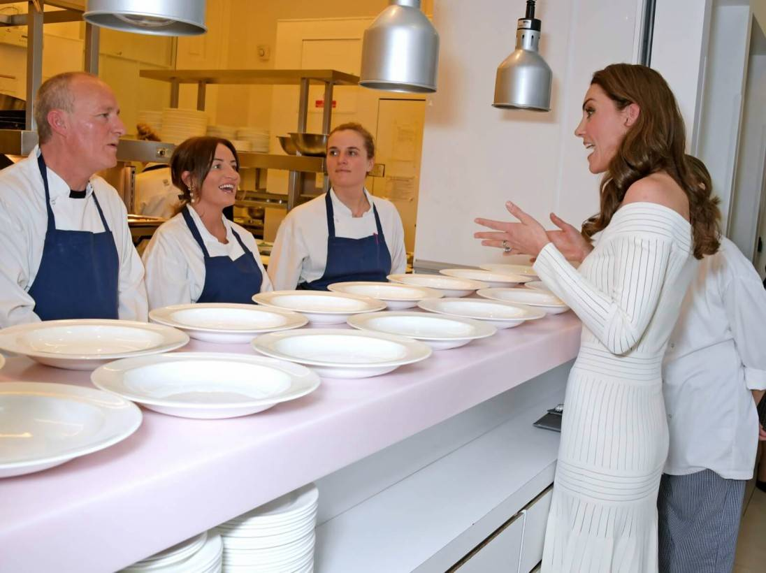 Duchess of Cambridge at gala dinner